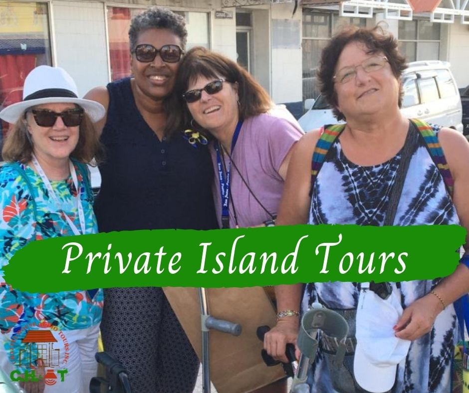 Local Guide with visitors on tour
